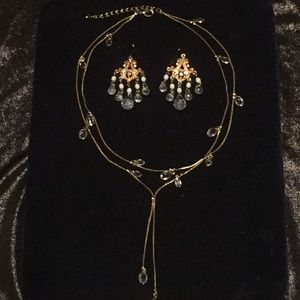 Extra 30%off 3 pieces necklace,earring & bracelet